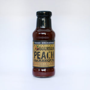 Peach Bourbon Barbeque Sauce